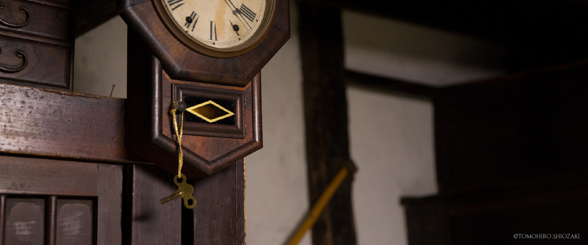 「京町家ひより」の時計