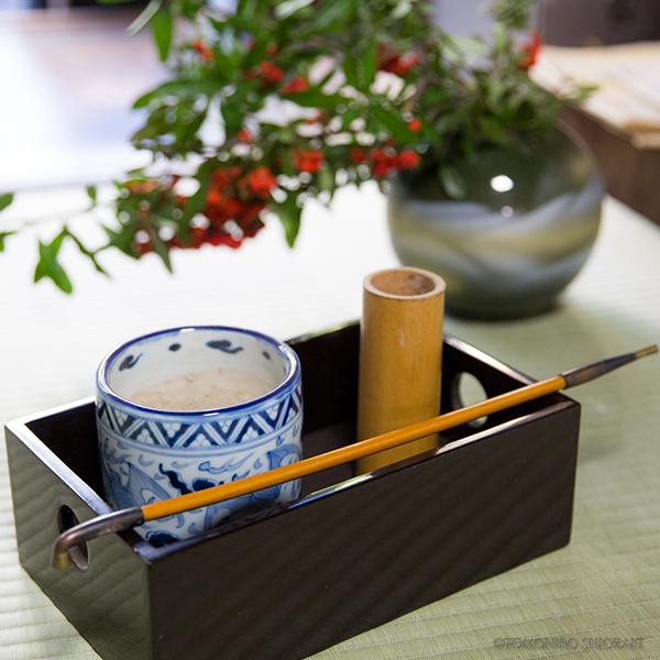 京町家 ひよりコレクション・煙管と煙草盆